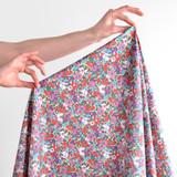 Garden Bloom Printed Cotton Poplin - Pale Yellow/Multi | Blackbird Fabrics
