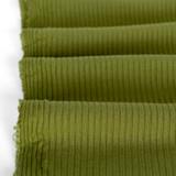 Medium Weight Bamboo Rib Knit - Pickle | Blackbird Fabrics