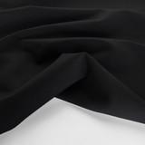 Ponte De Roma Knit - Black | Blackbird Fabrics