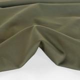 Ponte De Roma Knit - Olive | Blackbird Fabrics
