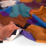 Paint Palette Printed Ecovero Twill - Multi | Blackbird Fabrics