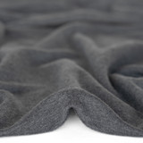 Bamboo & Cotton French Terry - Heather Charcoal | Blackbird Fabrics