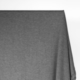 Bamboo & Cotton French Terry - Heather Charcoal | Blackbird Fabrics