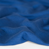 Bamboo & Cotton French Terry - Cobalt | Blackbird Fabrics