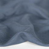 Bamboo & Cotton French Terry - Slate Blue | Blackbird Fabrics