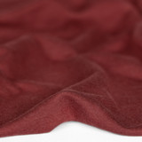Bamboo & Cotton French Terry - Deep Rosewood | Blackbird Fabrics