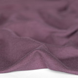 Bamboo & Cotton French Terry - Raisin | Blackbird Fabrics