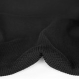 Heavyweight 2x2 Ribbing - Black | Blackbird Fabrics