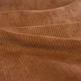 Stretch Cotton Corduroy - Teak | Blackbird Fabrics