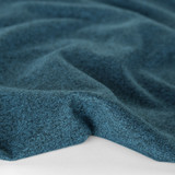 Heathered Athletic Knit - Teal | Blackbird Fabrics