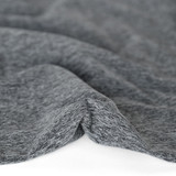 Heathered Athletic Knit - Medium Grey | Blackbird Fabrics