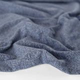 Heathered Athletic Knit - Navy | Blackbird Fabrics