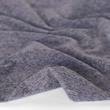 Heathered Athletic Knit - Eggplant | Blackbird Fabrics