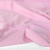 Heathered Athletic Knit - Powder Pink - 1/2 meter