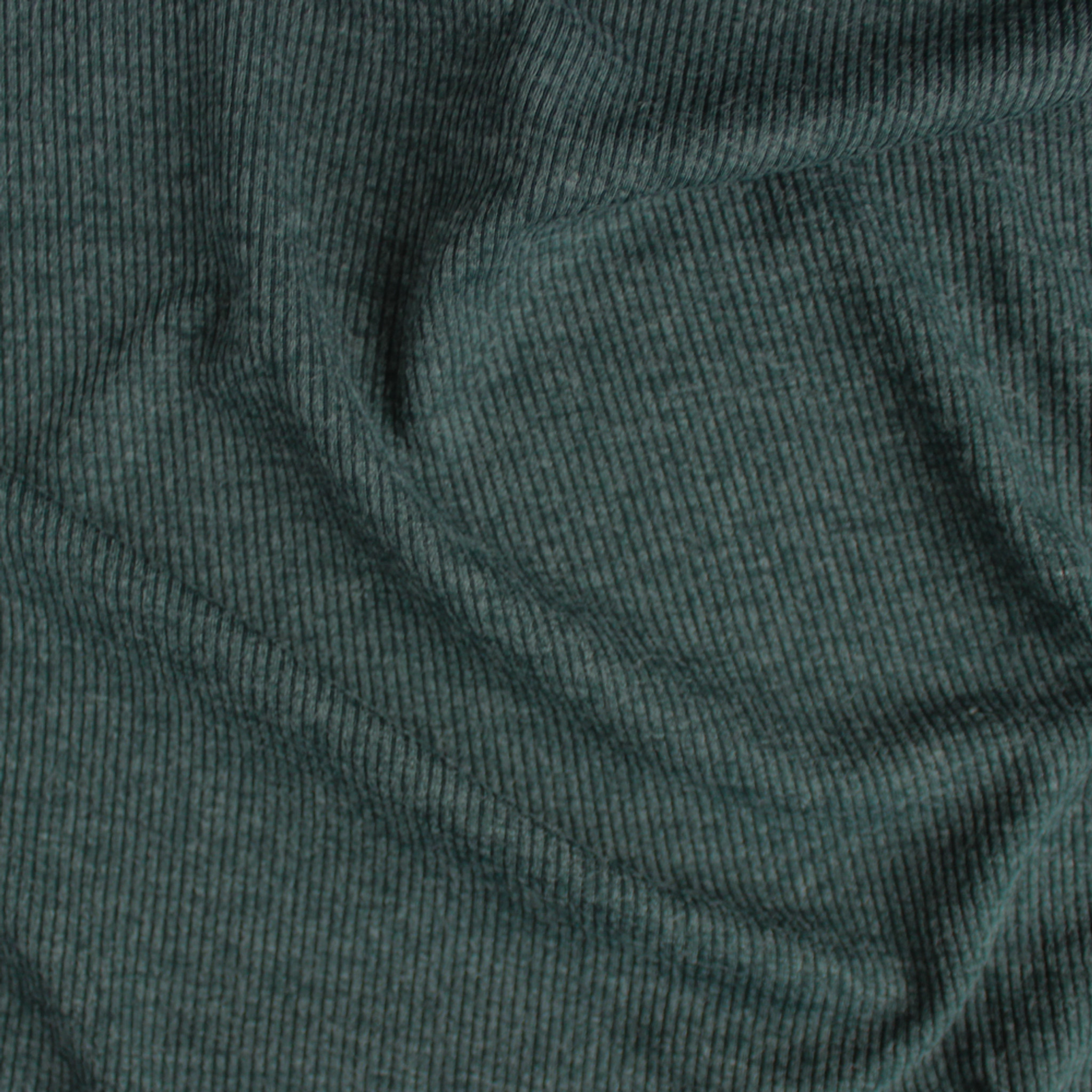 GREY MELANGE STRETCH RIB FABRIC SOLD BY THE METRE