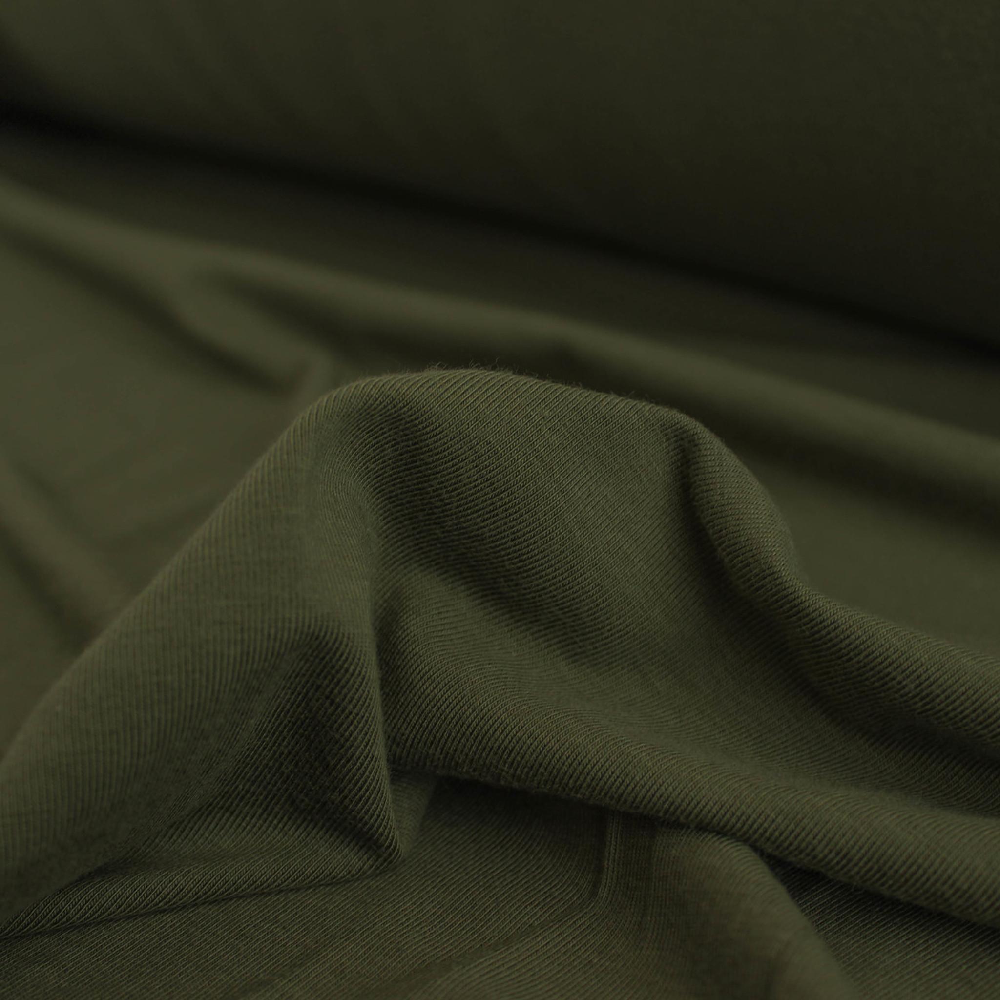 9c0250e3e97 Tencel & Organic Cotton Jersey - Moss   Blackbird Fabrics