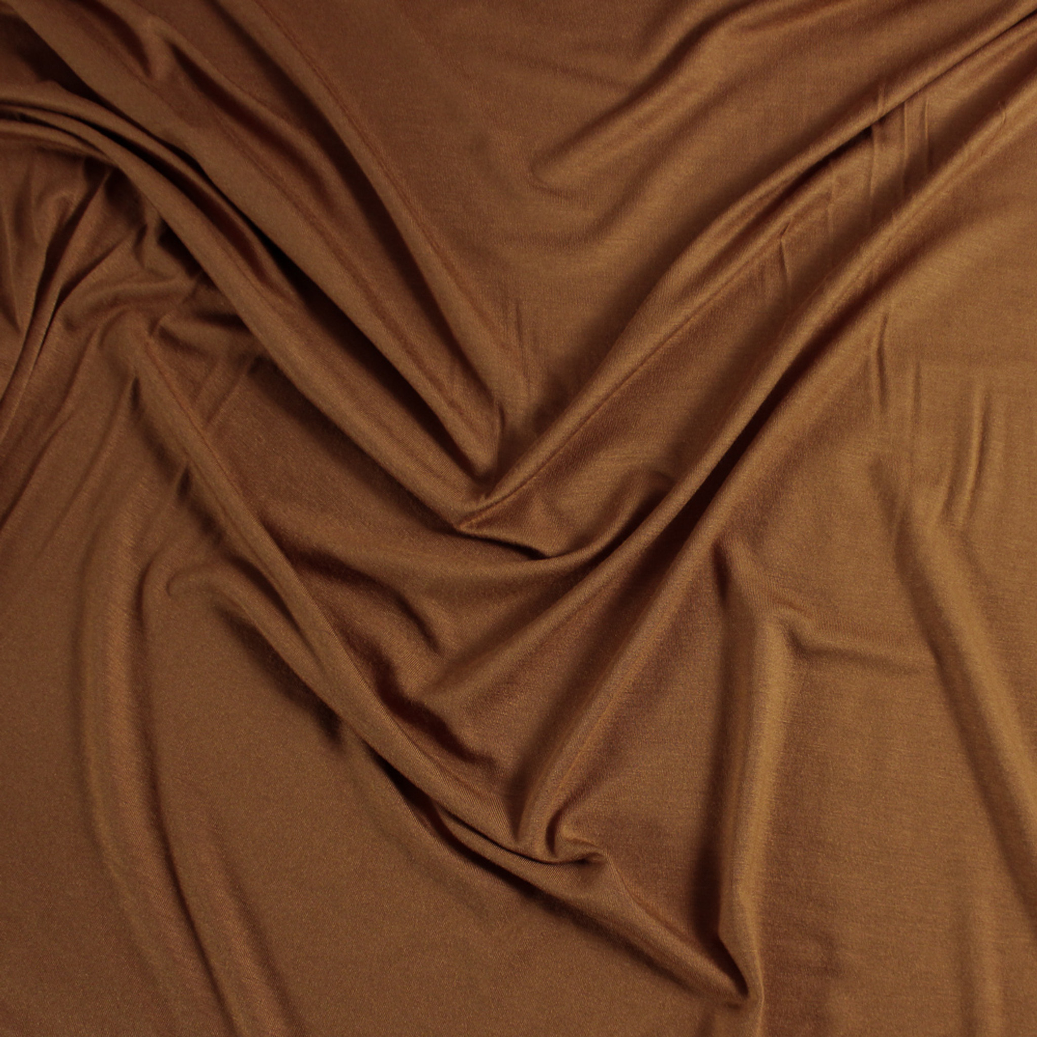 8a29321216e Modal Jersey Knit - Copper | Blackbird Fabrics