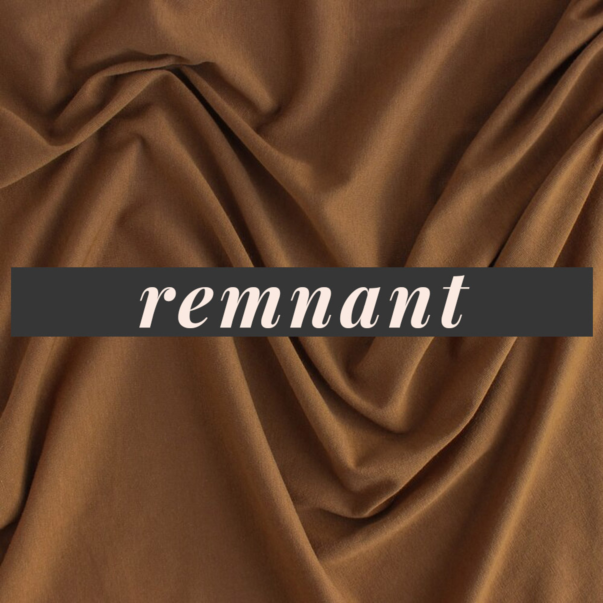 4f0401b7bd2 100% Organic Cotton Jersey Knit - Nutmeg | Blackbird Fabrics