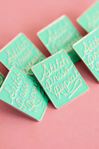 Stitch Press Repeat Pin by Colette Patterns   Blackbird Fabrics