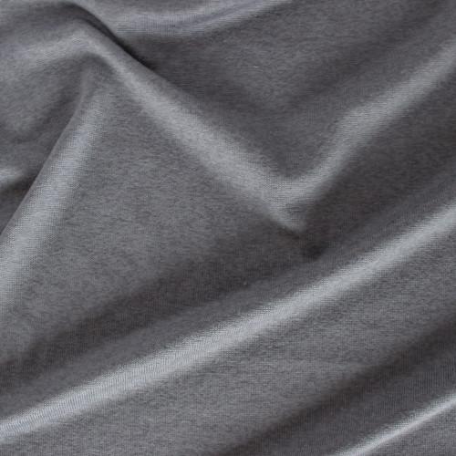 Rayon, Cotton, & Modal Sweater Knit - Steel Grey   Blackbird Fabrics