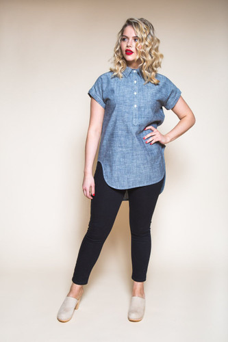 Kalle Shirt & Shirtdress by Closet Case Patterns | Blackbird Fabrics