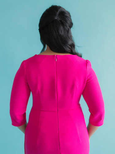 Etta Dress by Tilly and the Buttons | Blackbird Fabrics