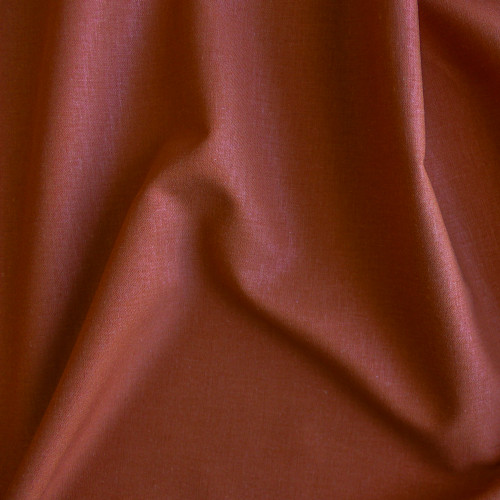 Stretch Linen Viscose - Rust | Blackbird Fabrics