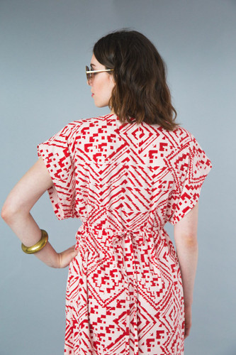 Charlie Caftan by Closet Case Patterns | Blackbird Fabrics