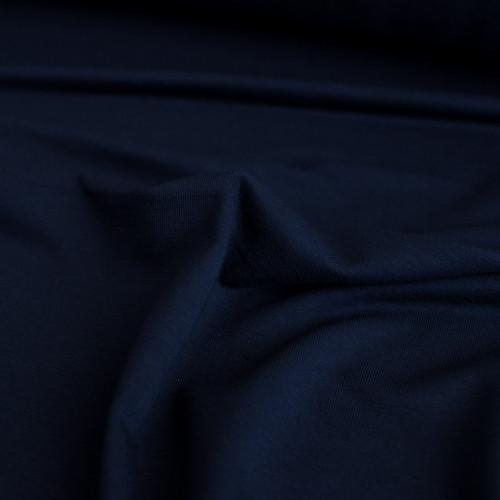 Bamboo Jersey Knit - Midnight Blue | Blackbird Fabrics