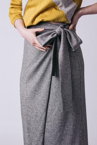 Tierra Wrap Skirt by Named Clothing   Blackbird Fabrics