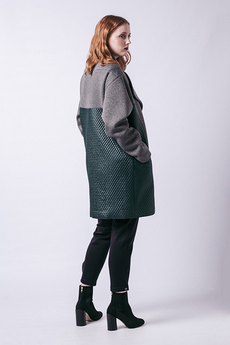 Gaia Quilted Coat by Named Clothing | Blackbird Fabrics