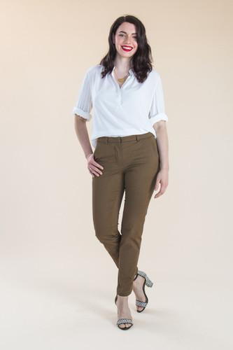 Sasha Trousers by Closet Case Patterns   Blackbird Fabrics