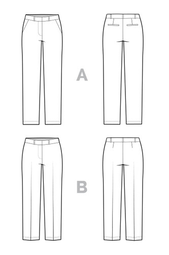Sasha Trousers by Closet Case Patterns | Blackbird Fabrics