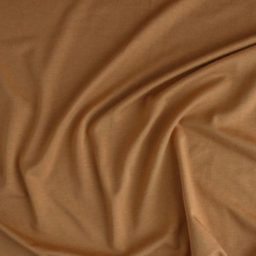 Bamboo Jersey Knit - Butterscotch | Blackbird Fabrics
