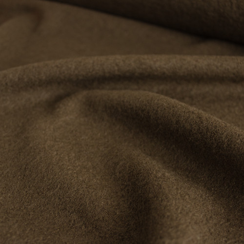 Boiled Wool & Viscose - Bark | Blackbird Fabrics