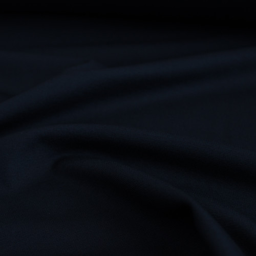 Ponte de Roma Knit - Dark Navy | Blackbird Fabrics
