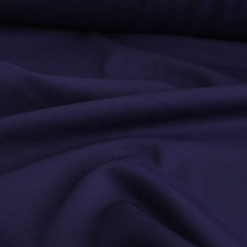 Ponte de Roma Knit - Blueberry | Blackbird Fabrics
