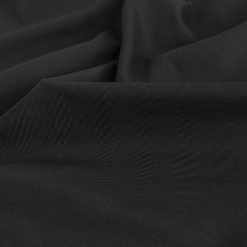 Heavyweight Compression Athletic Knit - Black | Blackbird Fabrics