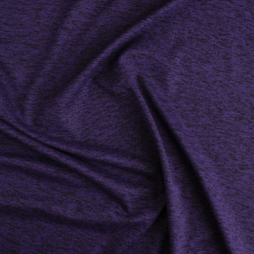 Space Dyed Athletic Knit - Ultra Violet | Blackbird Fabrics