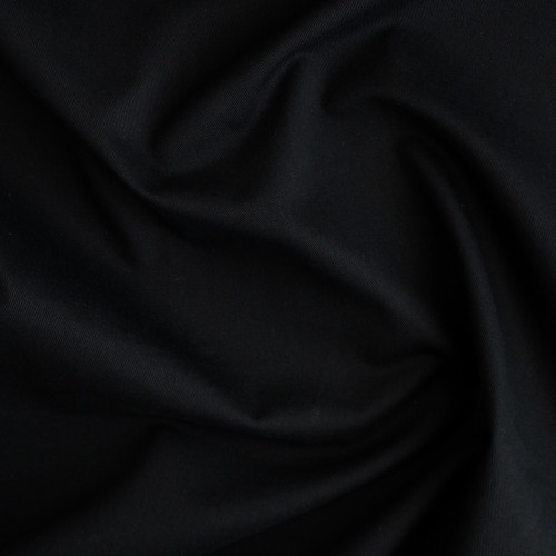 10oz Cotton Denim - True Black | Blackbird Fabrics