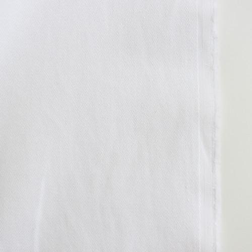 10oz Cotton Denim - White | Blackbird Fabrics