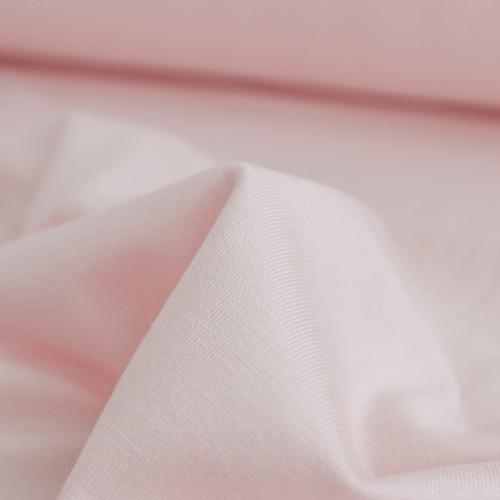 Bamboo Jersey Knit - Soft Pink | Blackbird Fabrics