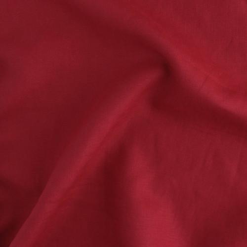 Mid-Weight Linen - Red   Blackbird Fabrics