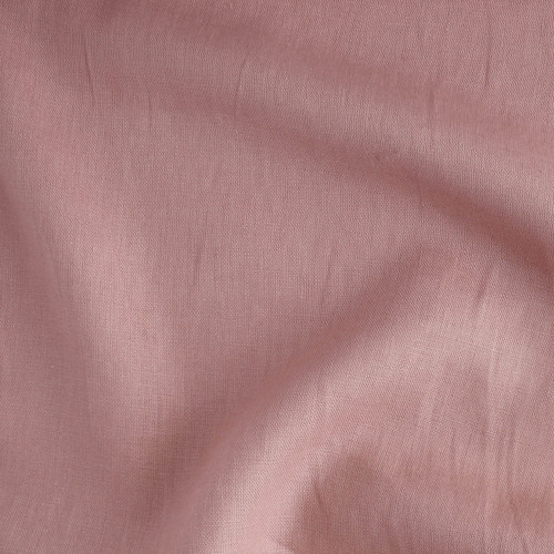 7oz Linen - Coral Rose | Blackbird Fabrics