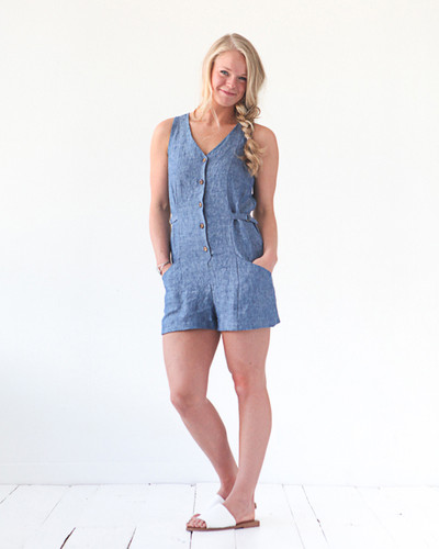 Yari Jumpsuit by True Bias | Blackbird Fabrics
