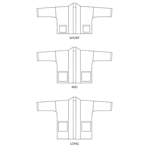 Haori Jacket by Wiksten | Blackbird Fabrics