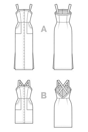 Fiona Sundress by Closet Case Patterns | Blackbird Fabrics
