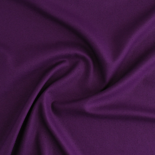 Raw Silk Noil - Amethyst   Blackbird Fabrics