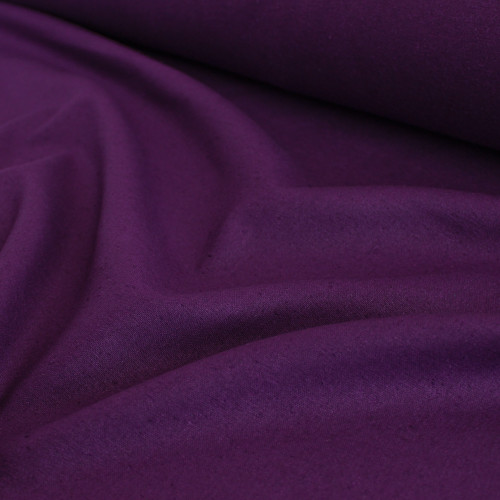 Raw Silk Noil - Amethyst | Blackbird Fabrics