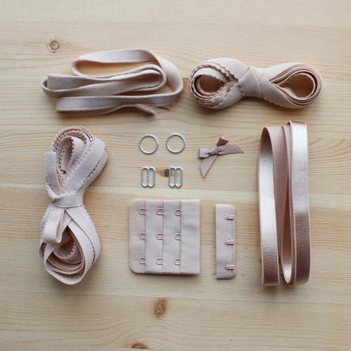 Bra & Panty Findings Kit - Beige | Blackbird Fabrics